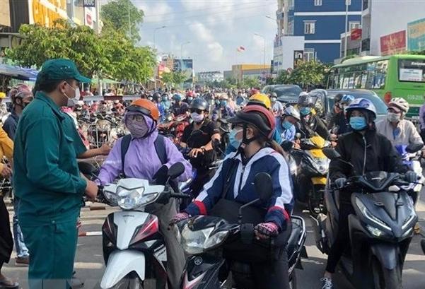 TP HCM: Điều chỉnh giao thông trên các tuyến đường qua quận Gò Vấp và quận 12