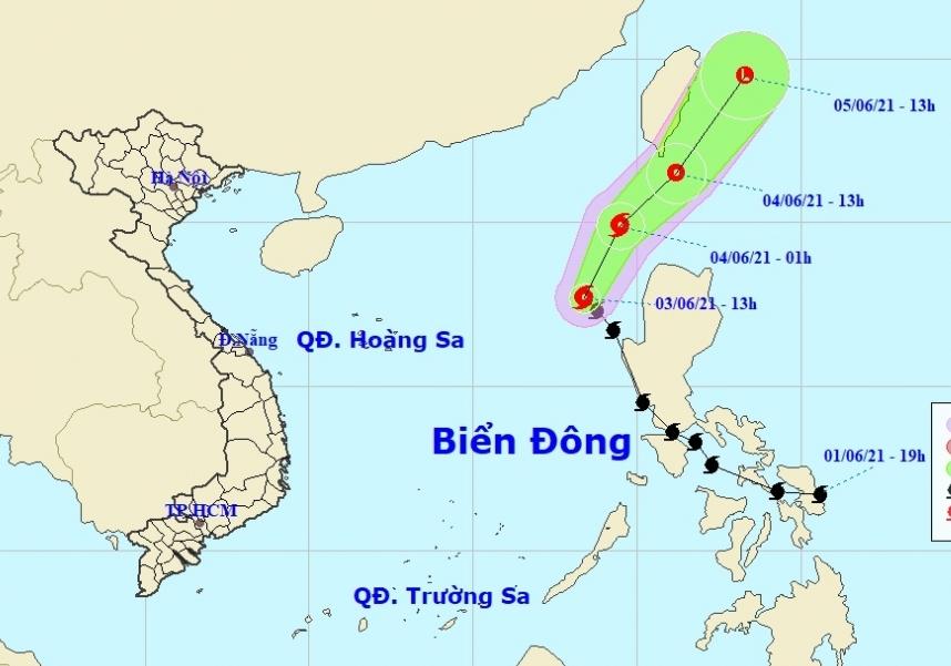 Biển Đông xuất hiện cơn bão đầu tiên trong năm