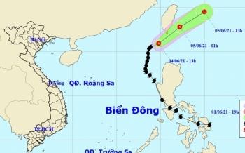 Bão số 1 suy yếu thành áp thấp nhiệt đới, biển động mạnh