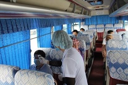Hải Phòng: Tạm dừng vận tải hành khách đi Nghệ An