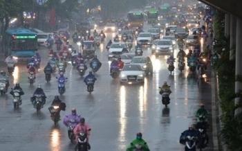 Bắc Bộ, Thanh Hóa và Nghệ An mưa lớn tập trung vào chiều tối và đêm