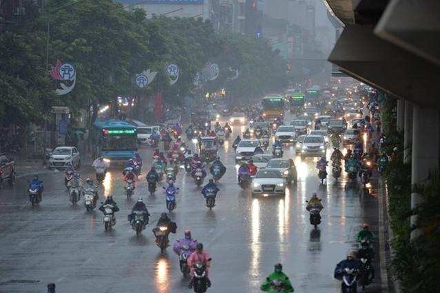 Miền núi Bắc Bộ, Tây Nguyên và Nam Bộ mưa dông, cục bộ có mưa to