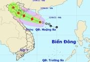 Áp thấp nhiệt đới hướng vào Vịnh Bắc Bộ có thể mạnh lên thành bão hôm nay (12/6)