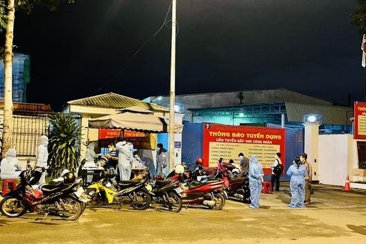 Bình Dương: Phong tỏa công ty có nữ công nhân dương tính với SARS-CoV-2