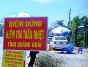 Tỉnh Quảng Ngãi dừng vận tải hành khách đi Đà Nẵng và ngược lại từ 0h ngày 20/6