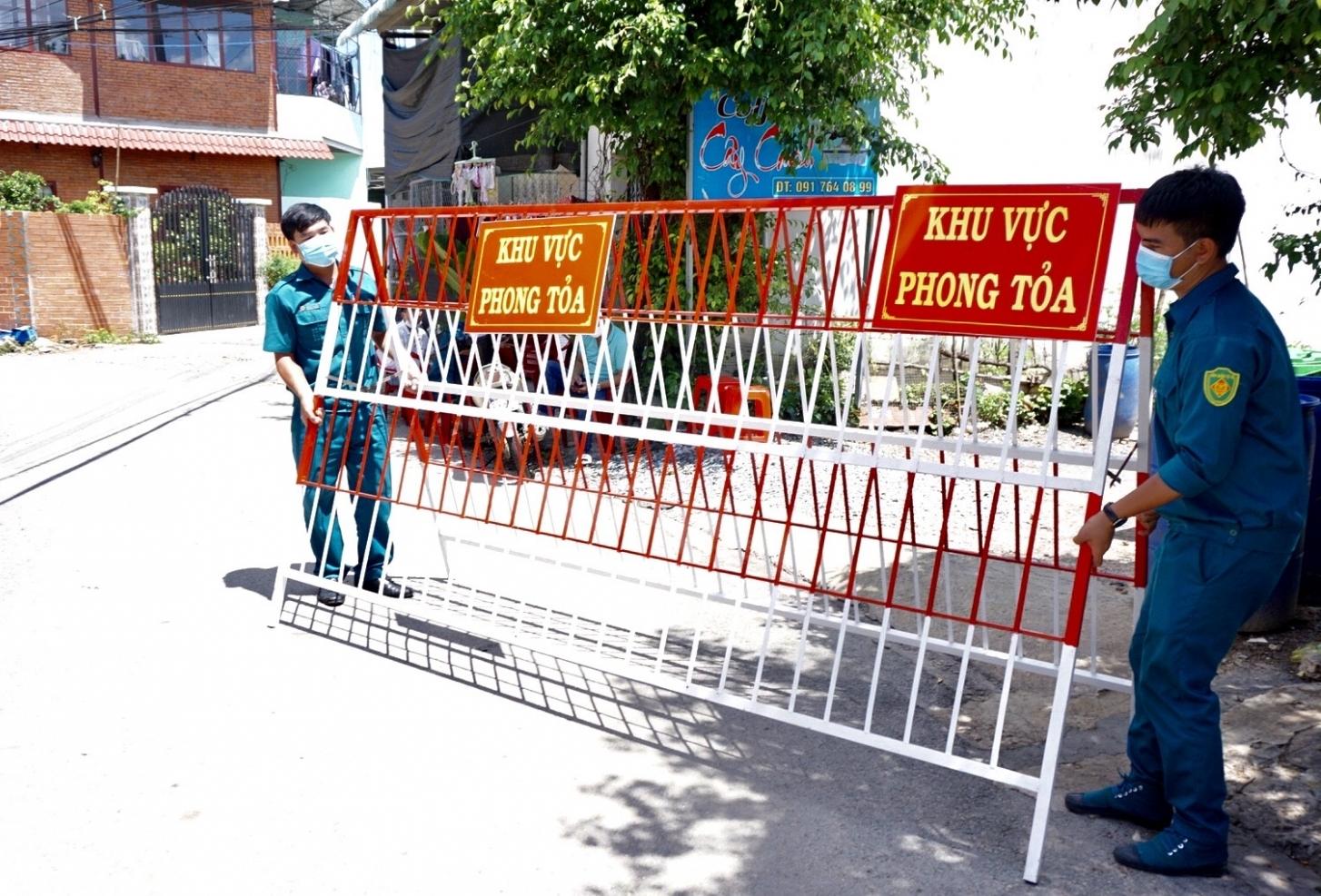 Bình Dương: Giãn cách xã hội theo Chỉ thị 16 toàn TP Thuận An và thị xã Tân Uyên