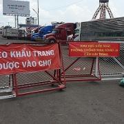 TP Hồ Chí Minh sẵn sàng mở lại chợ truyền thống