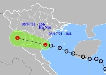 Áp thấp nhiệt đới suy yếu, Bắc Bộ và Bắc Trung Bộ tiếp tục mưa lớn