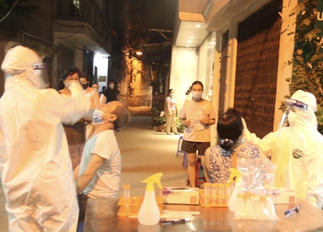 Hà Nội: Phong tỏa tạm thời 2 khu vực dân cư ở quận Thanh Xuân
