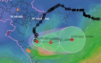 Bắc Bộ ngày nắng, mưa vào chiều tối và đêm; Bắc Trung Bộ mưa lớn