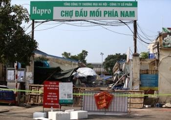 Hà Nội: Tìm người liên quan ca mắc Covid-19 bán trứng tại chợ đầu mối phía Nam