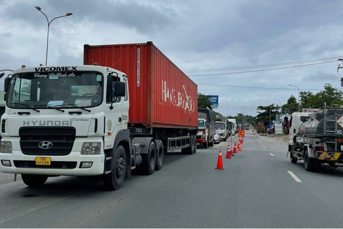 TP HCM kiến nghị nhiều địa phương chưa vẫn tạo điều kiện cho xe chở hàng