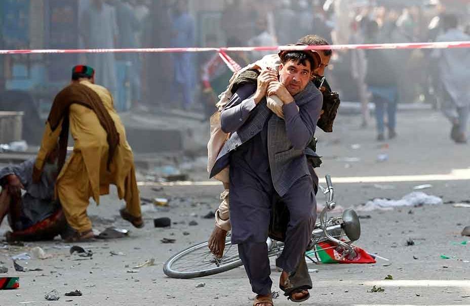 tin tuc the gioi 179 no bom tai cuoc van dong tranh cu cua tong thong afghanistan tren 50 nguoi thuong vong