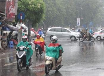 Dự báo thời tiết 10 ngày tới (27/9-6/10): Mưa rào và dông trên nhiều khu vực