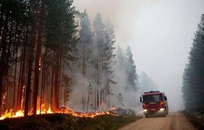 Ô nhiễm thêm trầm trọng từ các đám cháy rừng ở Vành đai Bắc Cực