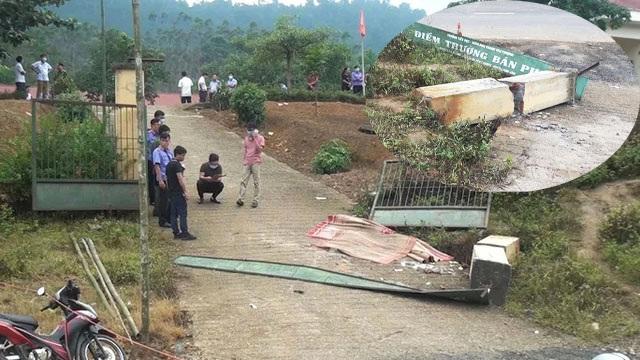 Vụ cổng trường đổ đè chết 3 học sinh: Vì sao trụ cổng không có cốt thép? - 1