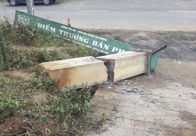 Vụ cổng trường đổ đè chết 3 học sinh: Vì sao trụ cổng không có cốt thép? - 2