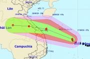 Ngày 18/9, bão số 5 đổ bộ Quảng Bình - Quảng Nam với sức gió giật cấp 13