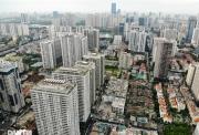 """Choáng ngợp """"rừng"""" cao ốc chen chúc trên đoạn đường dài gần 1km ở Hà Nội"""
