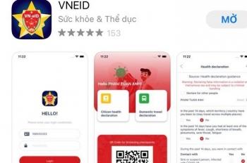 Chính thức đưa app VNEID vào sử dụng để khai báo y tế và di chuyển nội địa