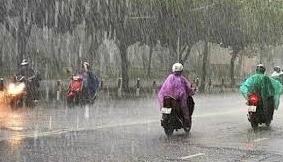 Bắc Bộ mưa lớn cục bộ, cảnh báo lũ quét, sạt lở đất tại miền núi