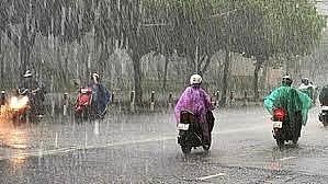Bắc Bộ và Thanh Hóa mưa lớn, trời chuyển lạnh