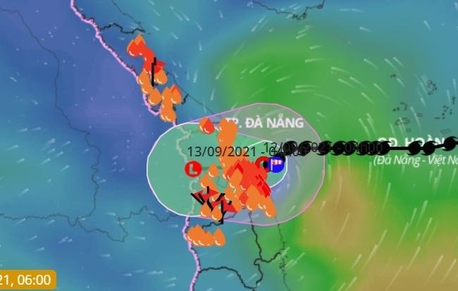 Bão số 5 suy yếu thành áp thấp nhiệt đới, nhiều tỉnh miền Trung và Tây Nguyên mưa lớn