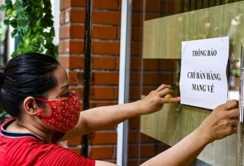 Hà Nội: 19 quận, huyện được bán hàng mang về
