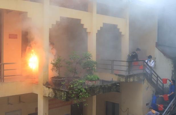 Hà Nội: Bất cập công tác phòng cháy ở khu dân cư