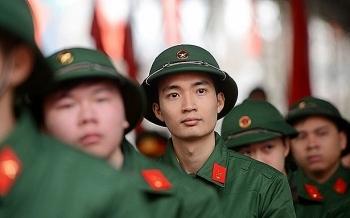 Điểm chuẩn của khối trường quân sự: Cao nhất 28,65 điểm