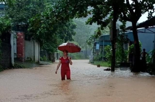 Lào Cai đón trận mưa lớn nhất so với cùng kỳ trong 63 năm qua
