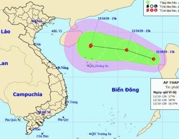 Bão số 6 vừa tan, Biển Đông lại xuất hiện áp thấp nhiệt đới