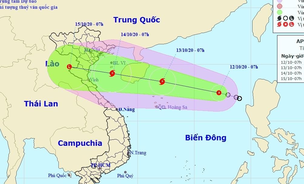 Áp thấp nhiệt đới có khả năng mạnh lên thành bão, cảnh báo ngập lụt kéo dài