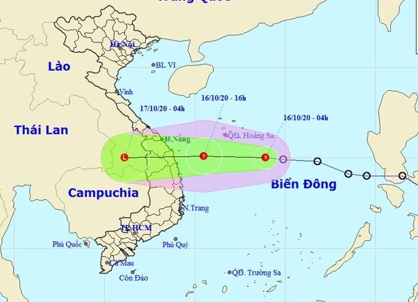 Áp thấp nhiệt đới sắp đổ bộ miền Trung, nguy cơ lũ lụt khó lường