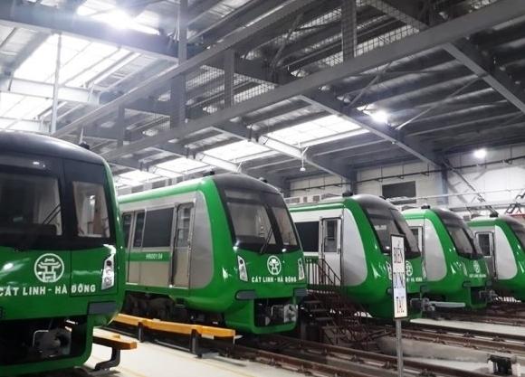 Chốt thời điểm vận hành thử toàn hệ thống đường sắt Cát Linh - Hà Đông