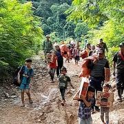 Nghệ An: Sơ tán hàng trăm hộ dân đến khu lán trại tập trung