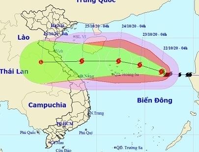 Bão số 8 giật cấp 13, hướng vào quần đảo Hoàng Sa và tiếp tục mạnh thêm