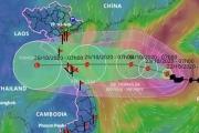 Bão số 8 giảm cường độ khi đổ bộ Hà Tĩnh - Quảng Bình