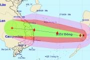 Bão số 9 đã vào Biển Đông, sức gió liên tục giật cấp 15