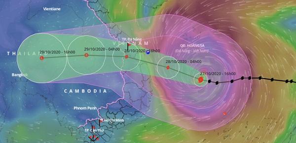 Bão số 9 có thể là cơn bão mạnh nhất trong vòng 20 năm qua