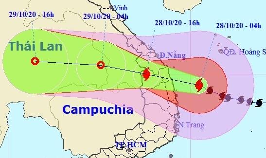 Bão số 9 giật cấp 15 đổ bộ Đà Nẵng - Phú Yên