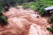 Cảnh báo lũ tại các tỉnh Nghệ An, Hà Tĩnh
