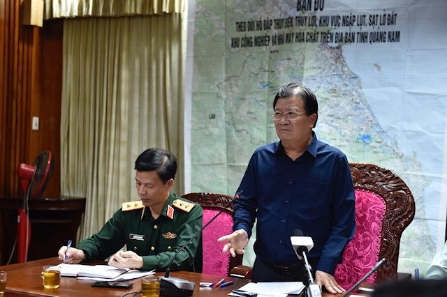 Nóng: Sạt lở đất ở Quảng Nam, 53 người mất tích, tìm được 7 thi thể, lập Sở Chỉ huy tiền phương