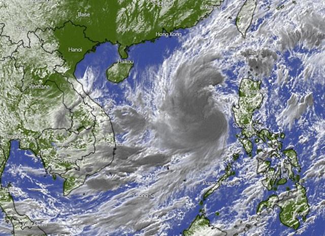 Biển Đông lại sắp đón bão Goni - 1