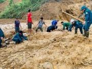 Quảng Nam: 11 người bị núi vùi lấp ở huyện Phước Sơn, đã tìm thấy 5 thi thể