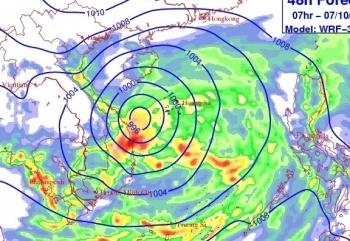 Áp thấp khả năng mạnh lên thành bão, Trung Bộ và Bắc Tây Nguyên mưa lớn