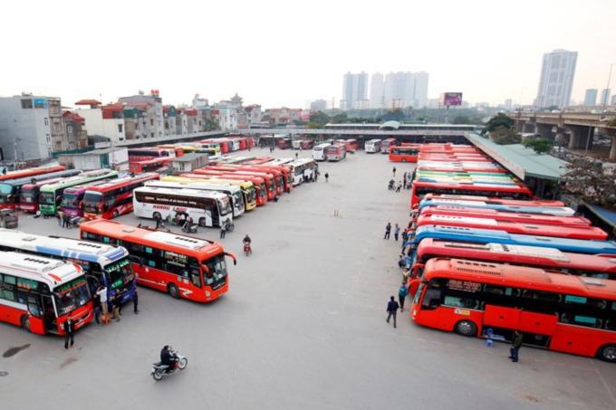 Những tuyến xe khách liên tỉnh hoạt động trong ngày đầu mở lại