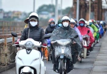 Không khí lạnh mở rộng vùng ảnh hưởng, Bắc Bộ và Bắc Trung Bộ mưa lạnh