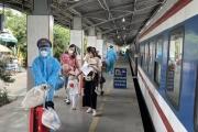 Đường sắt giảm 15% giá vé cho người có hoàn cảnh khó khăn từ TP HCM về quê