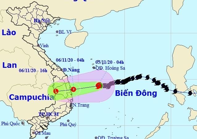 Bão số 10 dần suy yếu, nhiều tỉnh miền Trung mưa rất to